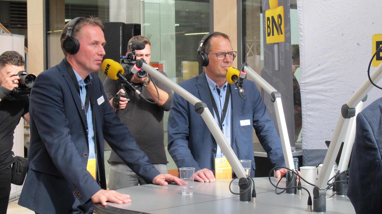BTC live in uitzending BNR Nieuwsradio
