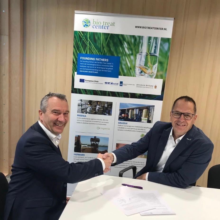 Keyport 2020 tekent coalitieovereenkomst met BTC